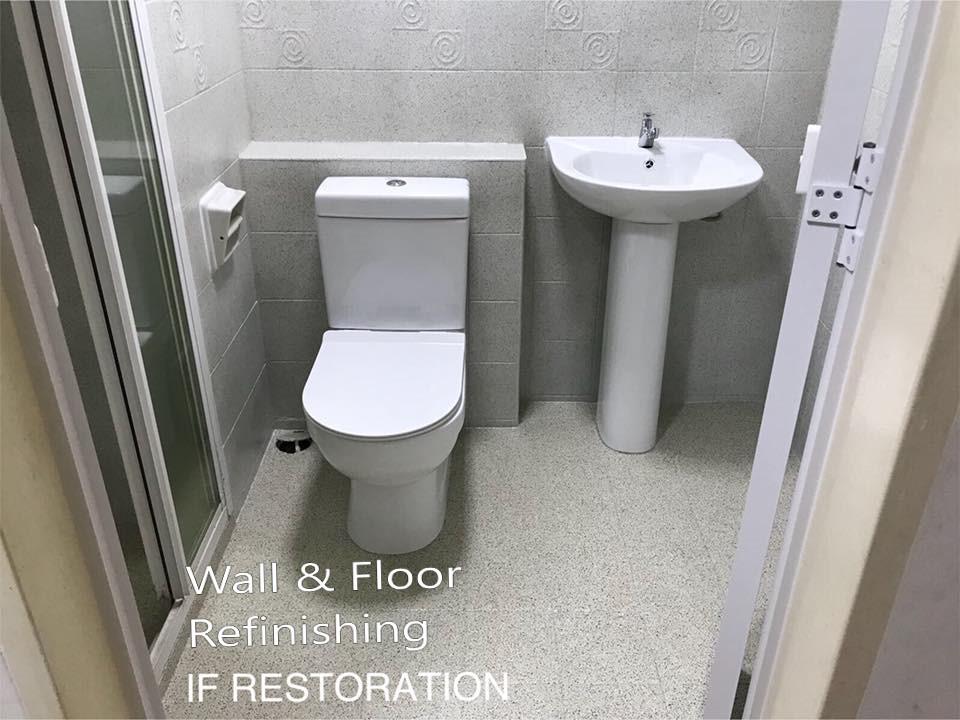 Bathroom Wall Tiles Resurfacing