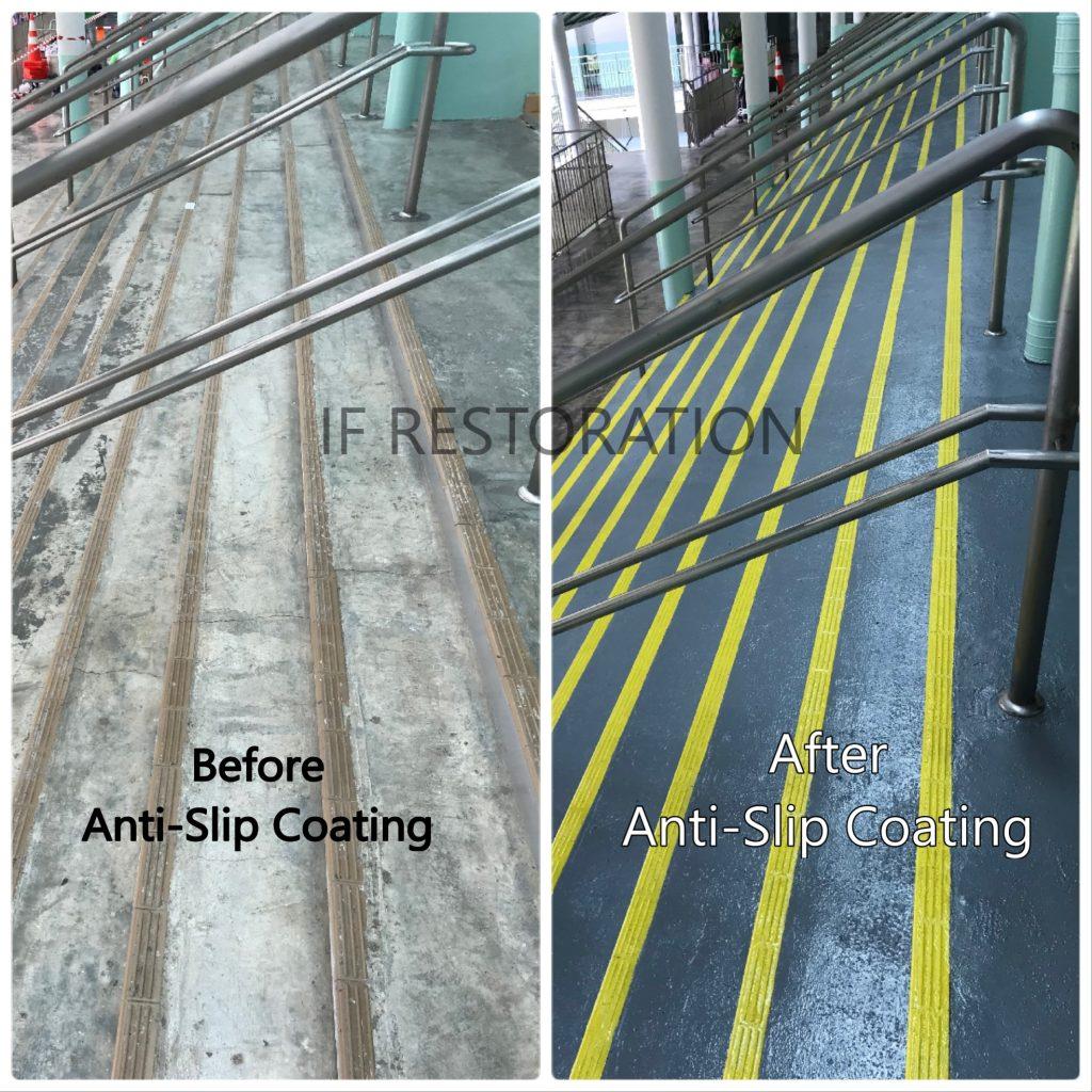 School Staircase Anti Slip Flooring